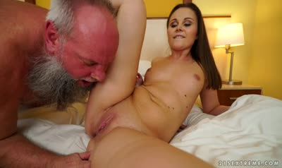 Old man good fucked sweet Russian beauty